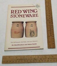 RED WING STONEWARE - Identification and Value Guide - illustrated - updated 2002