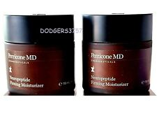 PERRICONE MD NEUROPEPTIDE FIRMING MOISTURIZER 4OZ X 2 LUXURY SIZE! AMAZING!