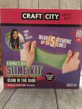 Craft City DIY Glow in the Dark Slime Kit Karina Garcia