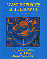 Good, Masterpieces of the Drama, Carr, Arthur J., Eastman, Arthur M., Allison, A