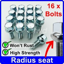 16 x ALLOY WHEEL BOLTS FOR VW GOLF MK1 MK2 MK3 (M12x1.5) NUT STUD LUGS [Y40]