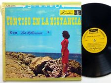 Los MILLONARIOS Contigo En La Distancia LP Fuentes 095 bolero cumbia salsa Bx201