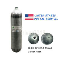9L//95cf Carbon Fiber Air Tank 4500psi DOT Approved PCP Paintball Fill Station