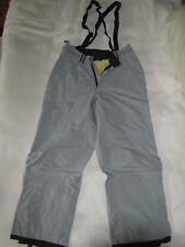 Unisex BONFIRE Platinum Series snowboarding/ski pants size M - Grey WaterPROOF