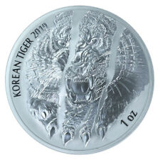 1 oz Silber Korean Silver Tiger - KOMSCO Korea Südkorea 2019