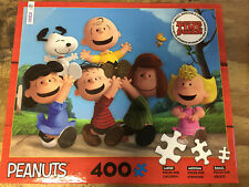 "Peanuts 400 Piece Puzzle Ceaco Together Time 24"" x 18"" - New"