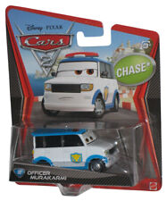 Disney Cars 2 Officer MURAKARMI Airport Security Guard Chase Pixar Gift