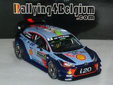 1/43 IXO Hyundai I20 WRC #4 Rally Monte Carlo 2017 Paddon RAM644B