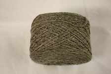 100 grm ball  Lambswool/cotton/cashmere 4 ply yarn - Verdigris