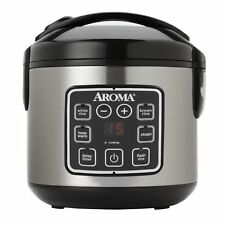 Aroma 8-Cup Cooked Digital Rice Cooker and  Food Steamer
