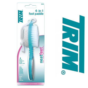 TRIM Foot Paddle 4-in-1 Pedicure Neat Feet 06638