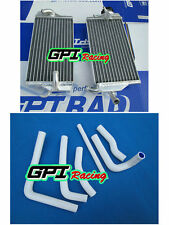 FOR Honda CR 250 R/CR 250R 2000 2001 aluminum  radiator and hose