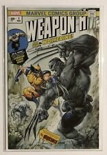 Weapon H #1 Clayton Crain Hulk 181 Homage Trade Dress Variant Signed By Crain NM
