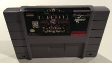Ultimate Mortal Kombat 3 Snes Super Nintendo Cleaned Tested working NICE