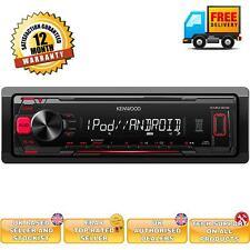 Kenwood KMM-202 Coche Estéreo Player Sintonizador Radio Receptor MP3 USB FLAC