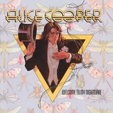 ALICE COOPER WELCOME TO MY NIGHTMARE 3 Extra Tracks REMASTERED CD NEW