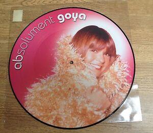 # Picture-disc Maxi jeunesse Chantal GOYA absolument Goya electro 2002 état NEUF