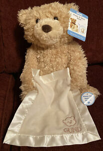 "Baby GUND Peek-A-Boo Teddy Bear Animated Stuffed Animal Plush, 11.5"" NEW - NWT"
