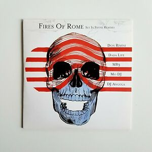 FIRES OF ROME : SET IN STONE ♦ CD Single Promo ♦