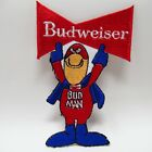 Patch - Budweiser - Bud Man - Embroidered Beer Superhero - Collectible