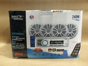 Boss Marine MCK752WB.64 Audio System