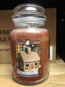 Goose Creek Large Jar Gingerbread Lane