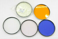 Assorted Lot 5 - Used Poor Condition - Series #8 Filters - For Parts - C1077