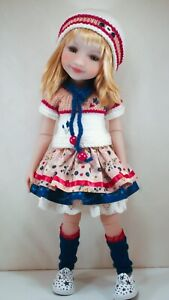 """Outfit for Effner Ruby Red Galleria Fashion Friends 14.5"""" vinyl dolls"""