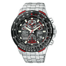 Men's SKYHAWK Citizen Eco-Drive red arrows radiocontrollato JY0100-59E