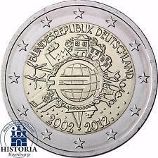 10 Jahre Bargeld 2 Euro Deutschland Gemeinschaftsausgabe 2012 Stempelglanz Mzz J