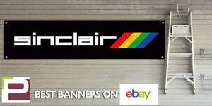 Sinclair Banner for GARAGE WORKSHOP or Man Cave ZX Spectrum 48k Vintage Banner