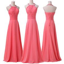 2016 Women Gowns Prom Evening Formal Party Long Maxi Bridesmaids Ball Dress 6-20