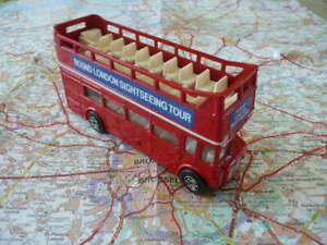 LEYLAND Routemaster  Bus à Impérial ouvert Round London Ancien CORGI