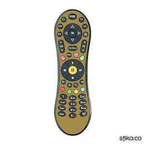 Coloured Vinyl Skin Sticker for Virgin Media TiVo V6 Mini TV Remote Control