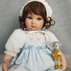 "17"" Marie Osmond BABY EMILY Treasured Moment porcelain Baby Doll L.E. #76 of 500"
