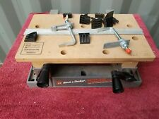 BLACK & DECKER BENCH TOP WORKMATE TILTING WORK CENTER & VISE 79-020 WITH CLAMPS