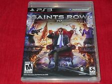 SAINTS ROW IV PS3 FACTORY SEALED!!!  FAST SHIPPING!!! MUST L@@K!!! C@@L!!!