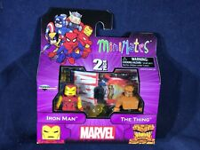 X2-25 MINIMATES ACTION FIGURE 2-PACK - IRON MAN & THE THING - MARVEL