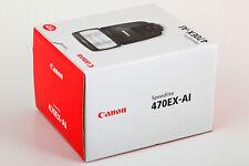 Blitzgerät Canon Speedlite 470EX-AI, Neu + OVP, deutsche Ware