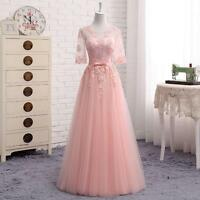 Hot Celebrity Cocktail Prom Wedding Gown Long Vintage Formal Party Evening Dress