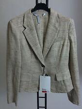Unbranded Cotton Blend Button Formal Women's Coats & Jackets