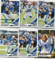 """LOT (12) 2019 DONRUSS """"ALL"""" INDIANAPOLIS COLTS ANDREW LUCK PEYTON MANNING - B114"""