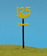 OO Scale Speed Signal Signs