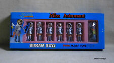 "AIRGAM BOYS spazio ""Miss ASTRONAUTA"" PENNINO MADE IN GREECE PYROPLAST TOYS Greco anni'80"