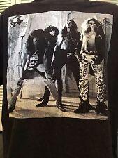 VTG 89 Bullet Boys Tour Shirt Sz XL Ratt Rock Vixen Metal Crue Dokken Poison Kix