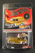 Hotwheels RLC Holiday GMC delivery with snowmobile  rare