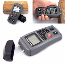 Damp Meter Digital LCD Moisture Detector Wood Brick Humidity Caravan Tester tool