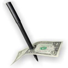 Cool Magician Toy Magic Trick Ball Pen Thru Bill Penetration Dollar Bill Money C
