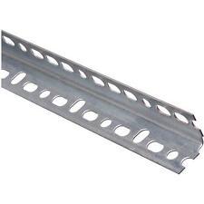"""30-Steel Galvanized 1.25"""" X 1.25"""" X 3' Garage Door Opener Slotted Angle N341123"""