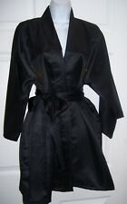 """Japanese Robe Gold Dragon Decals Kimonos Japan 52"""" Bust Knee Length by Jugue"""